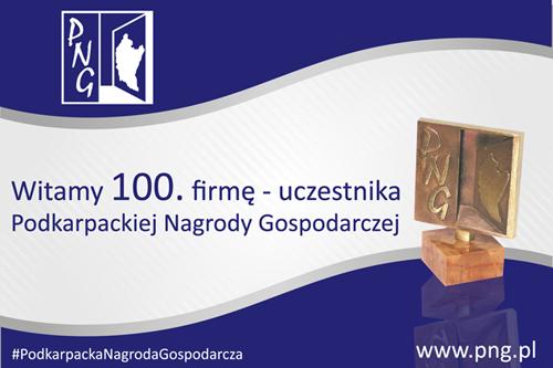 Grono uczestników Podkarpackiej Nagrody Gospodarczej liczy już 100 firm!
