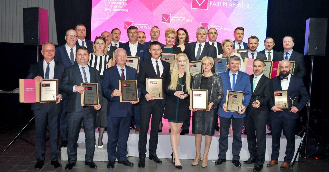 """Podkarpackie przedsiębiorstwa z tytułami """"Przedsiębiorstwo Fair Play"""" 2018"""