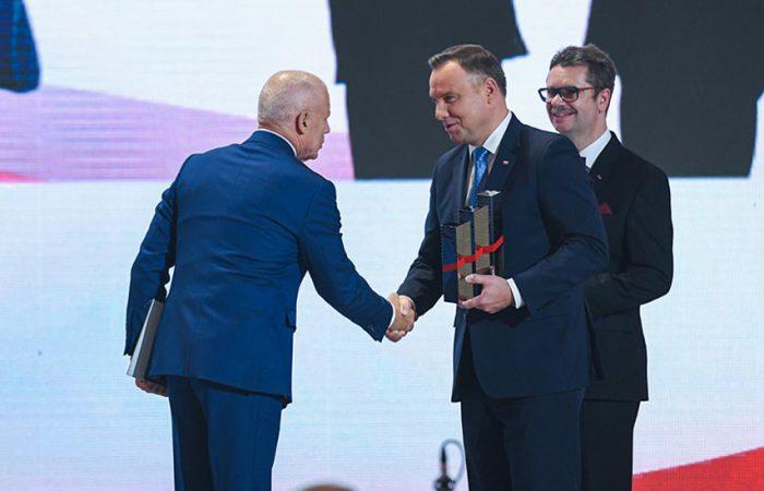Kongres 590 - Olimp Labs z Nagrodą Gospodarczą Prezydenta RP