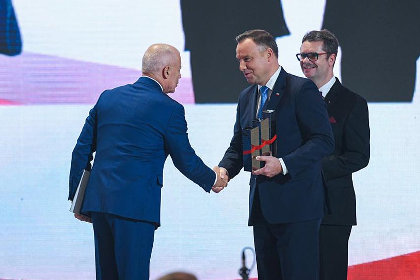 Kongres 590 – Olimp Labs z Nagrodą Gospodarczą Prezydenta RP