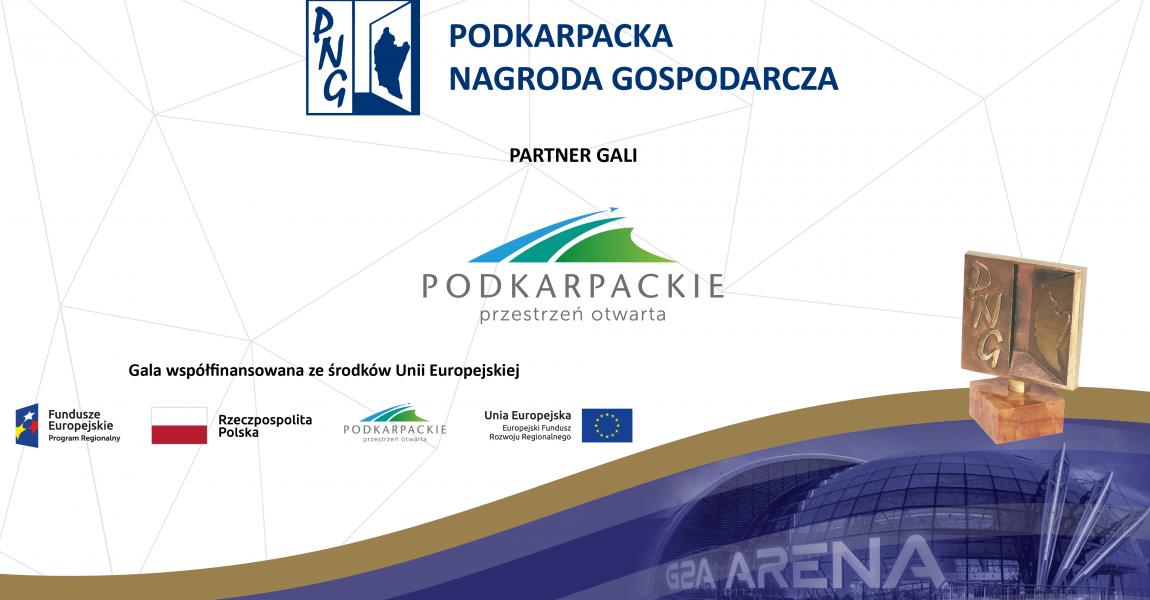 Urząd Marszałkowski Województwa Podkarpackiego Partnerem Gali