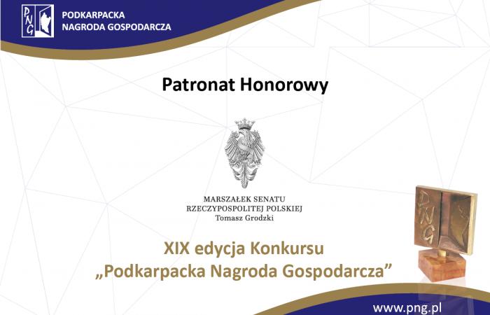 Marszałek Senatu Rzeczypospolitej Polskiej przyznał Patronat honorowy nad XIX edycją Konkursu