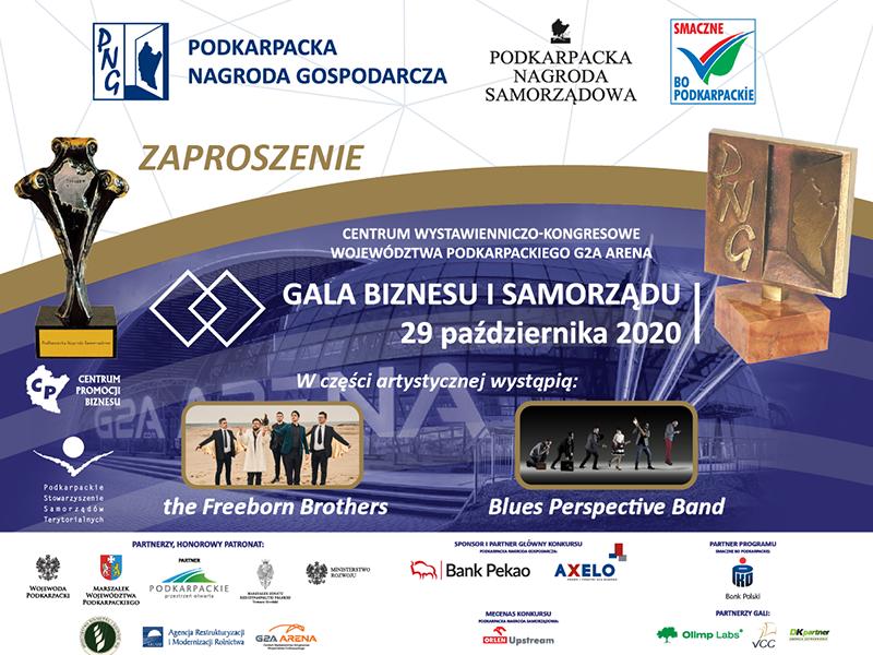 Gala Biznesu i Samorządu 2020