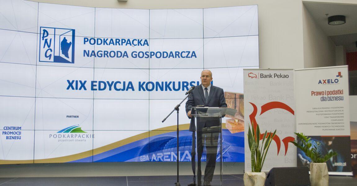 """Gala XIX edycji Konkursu """"Podkarpacka Nagroda Gospodarcza"""" 2020 [FOTO]"""