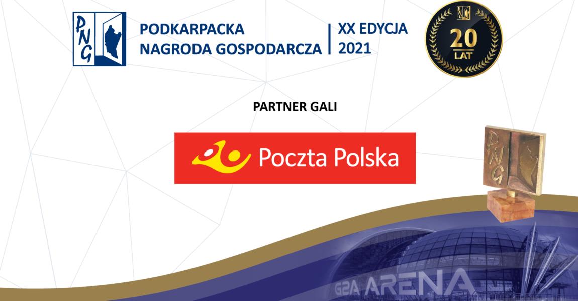 "Poczta Polska Partnerem Gali Konkursu ""Podkarpacka Nagroda Gospodarcza"" 2021"