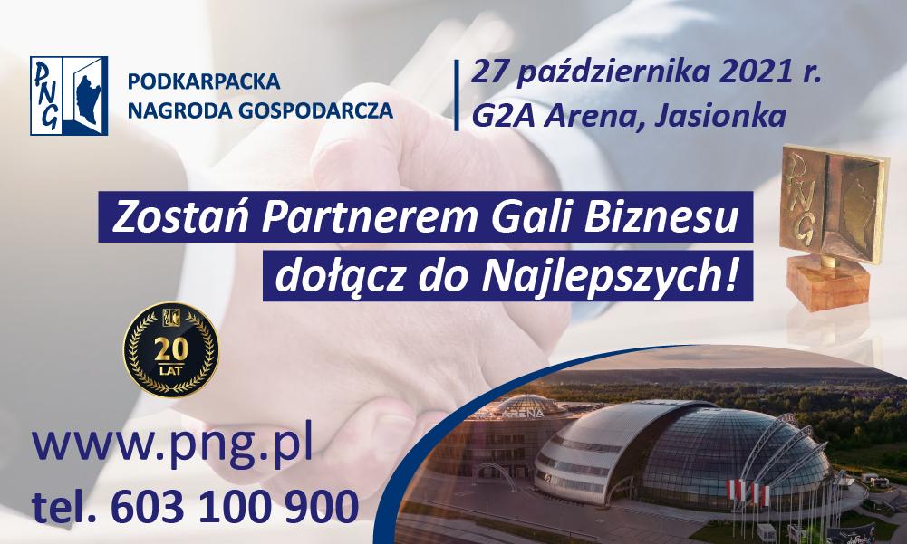 Zostań Partnerem Gali Biznesu i dołącz do Najlepszych!